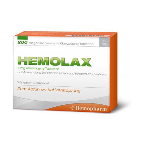 Hemolax 5mg Dragees