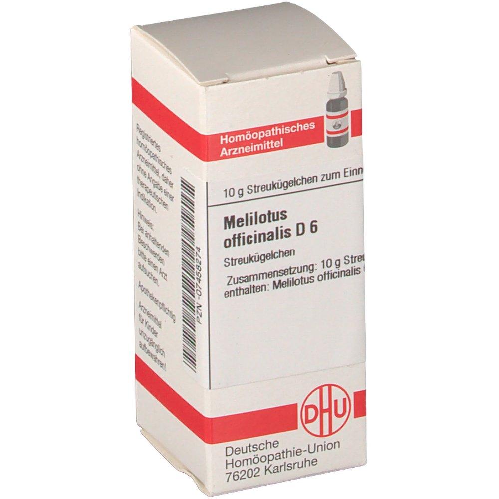 DHU Melilotus officinalis D6 Globuli