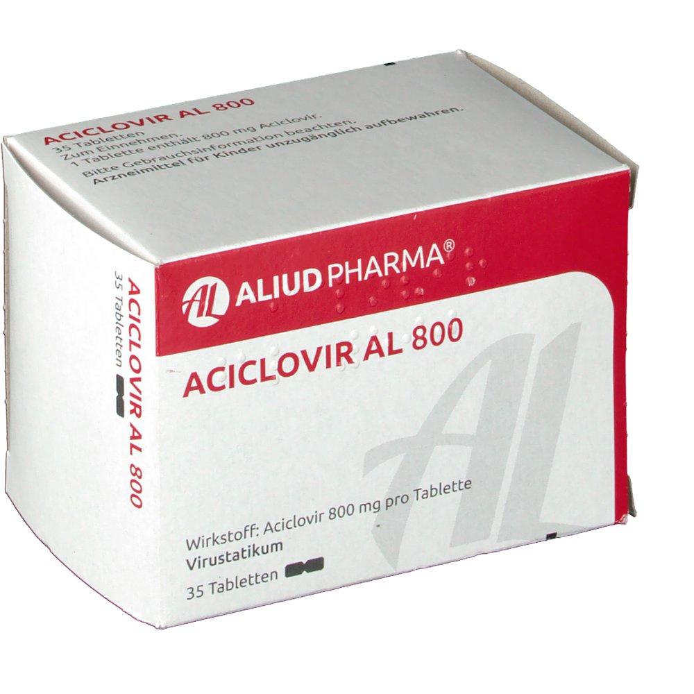 Acyclovir 800 Mg Tabletten