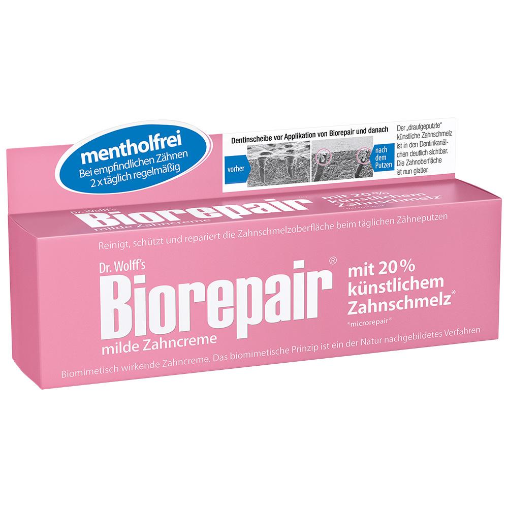 Dr. Wolff´s Biorepair® milde mentholfreie Zahncreme