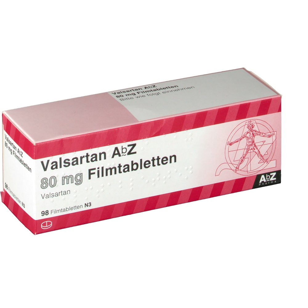 Valsartan abz 80 mg shop for Diovan 80 mg picture