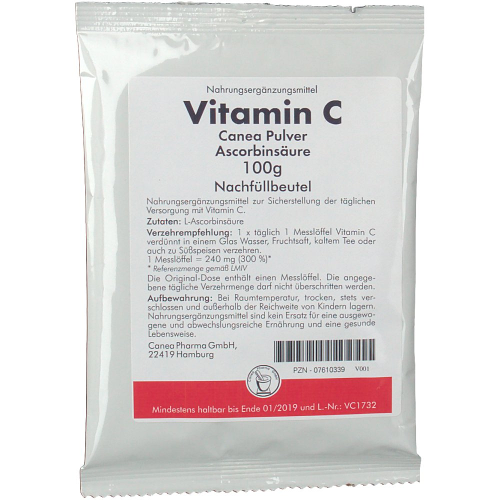 Vitamin C Canea Pulver Nachfüllpack