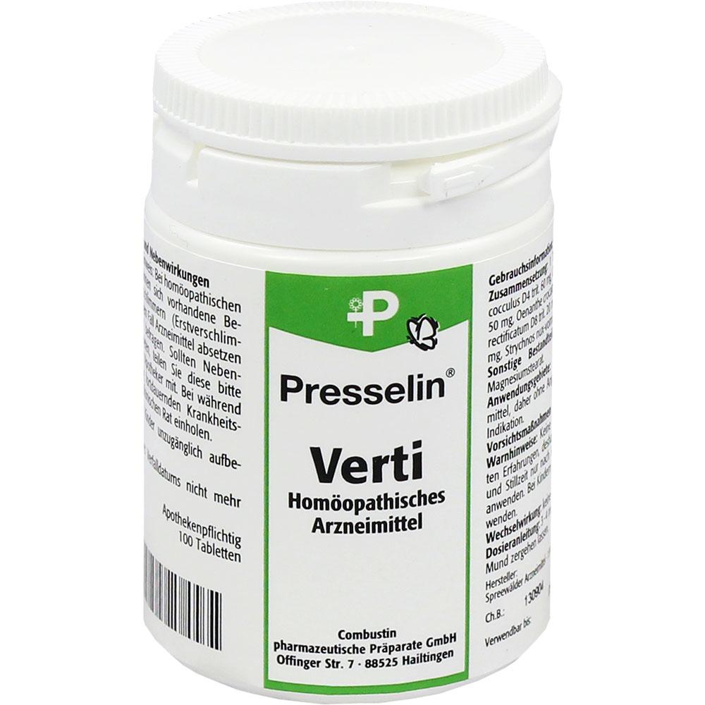 Presselin® Verti Schwindel Tabletten
