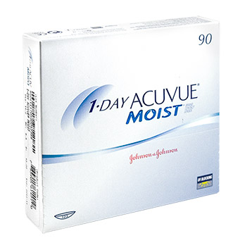 1-Day Acuvue® Moist® BC 9.0 DPT +5,25