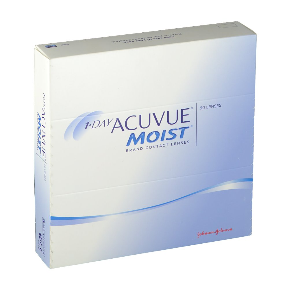 1-Day Acuvue® Moist® BC 9.0 DPT -5,25