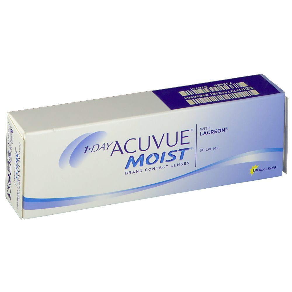 1-Day Acuvue® Moist® BC 9.0 DPT +3,25