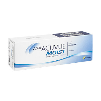 1-Day Acuvue® Moist® BC 9.0 DPT -10,00