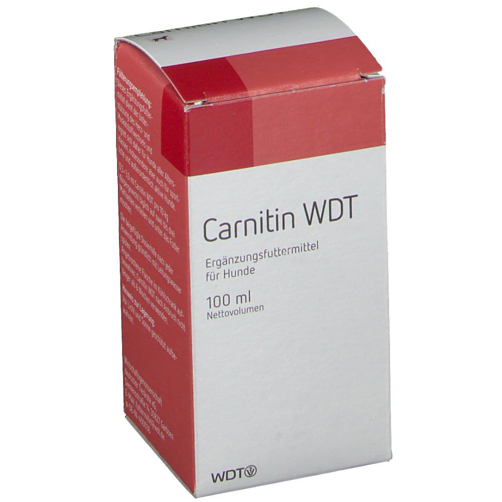 Carnitin WDT (100 ml) - Flüssigkeit - Wirtschaftsgenossenschaft deutscher Tierärzte eG