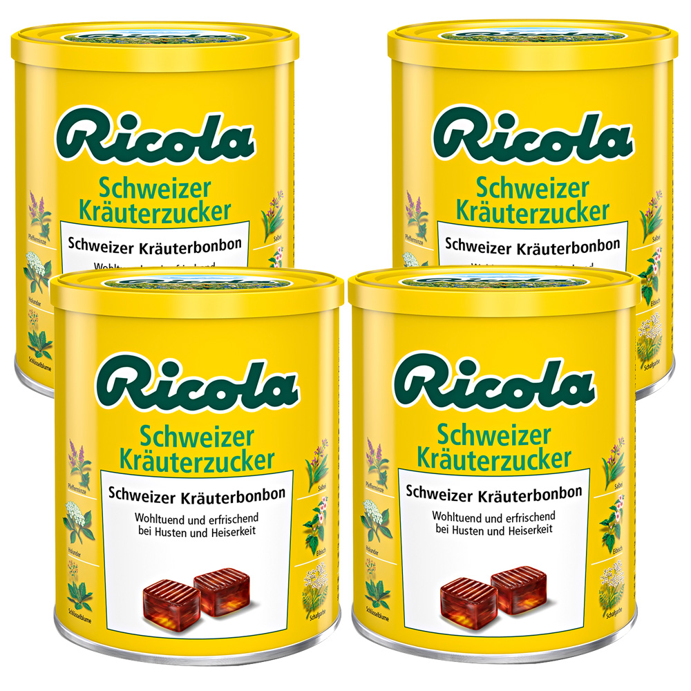 Ricola® Schweizer Kräuterzucker mit Zucker