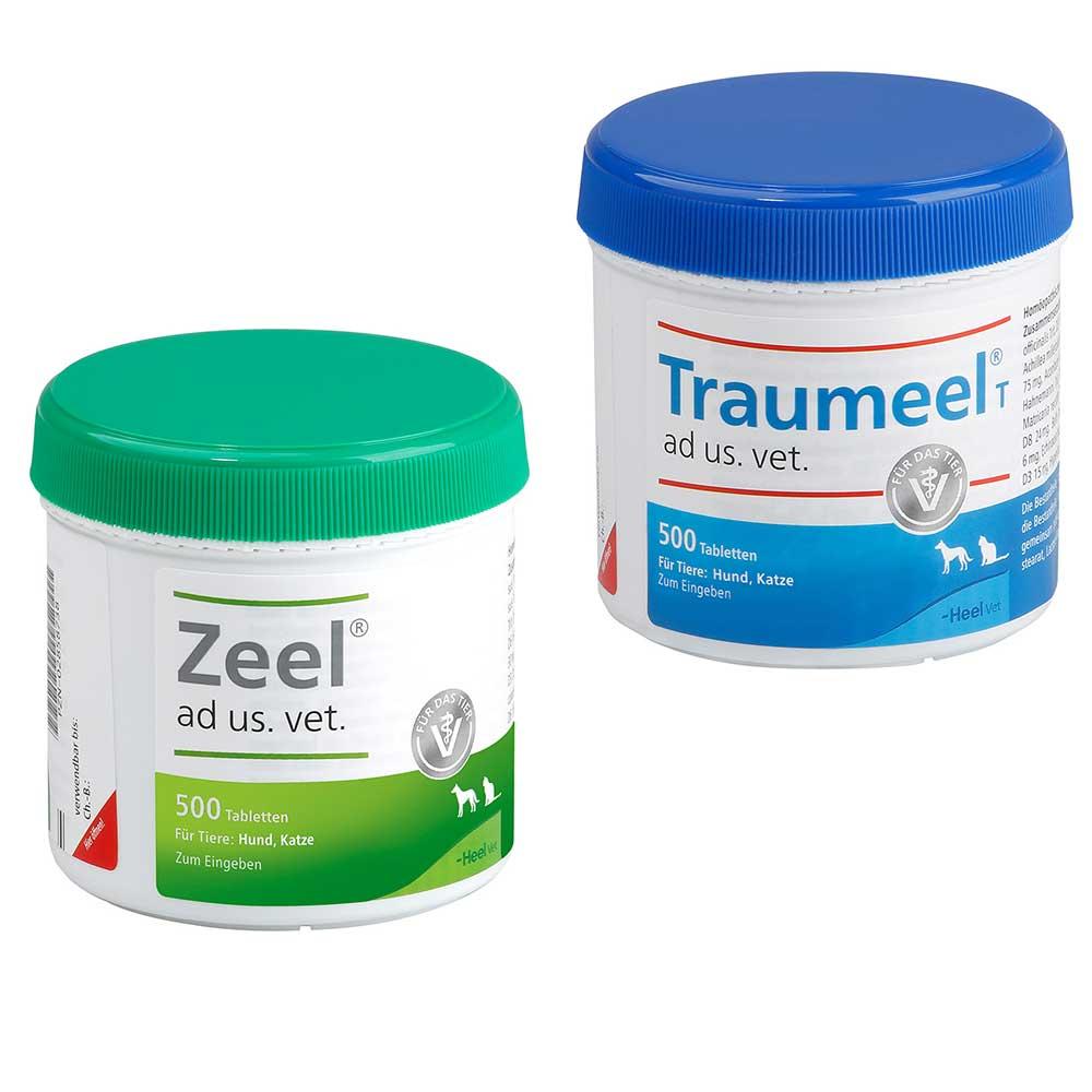 Traumeel® und Zeel® Vet Vorteils-Set