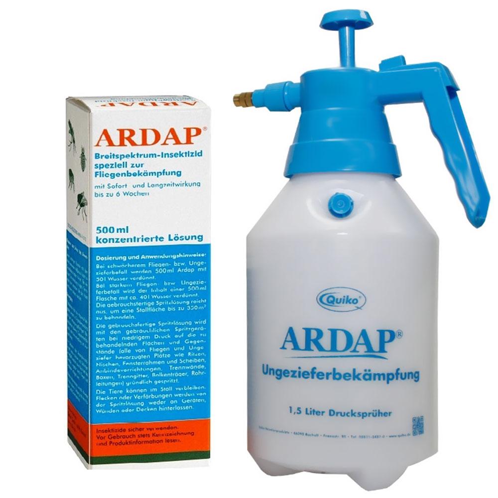 Ardap® Ungeziefer Konzentrat mit 1,5 L Druckspr...
