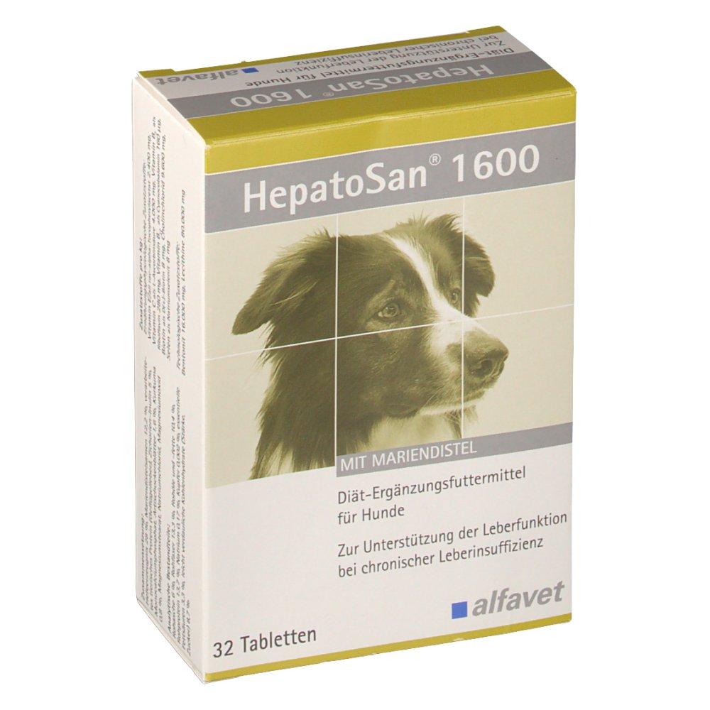 HepatoSan® 1600 für Hunde