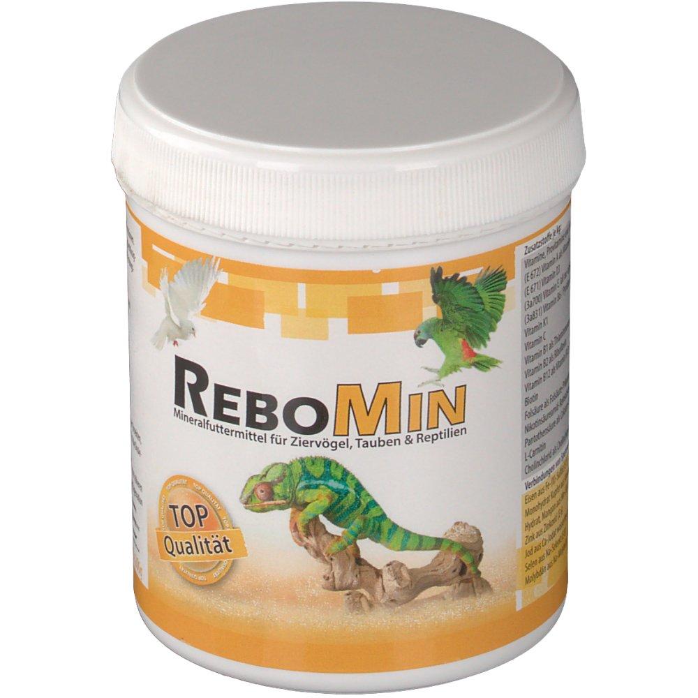 Rebomin Mineralfuttermittel für Ziervögel, Taub...