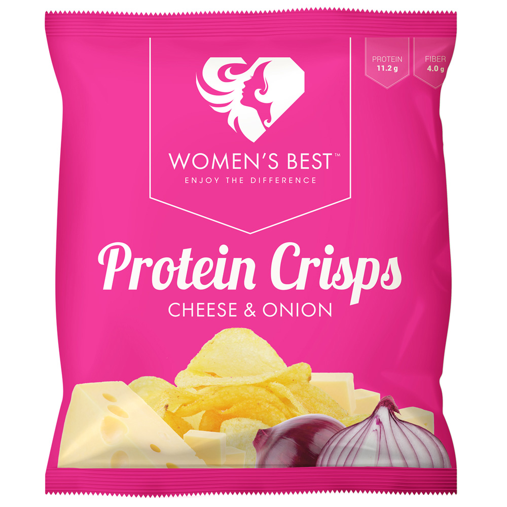 Women´s Best - Protein Chips - Cheese/Onion
