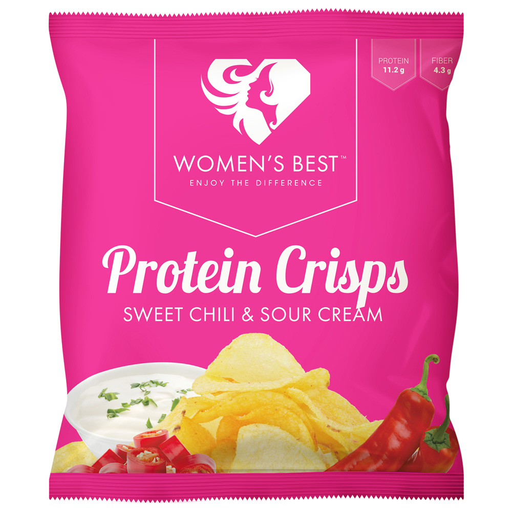 Women´s Best - Protein Chips - Sweet Chili/Sour...