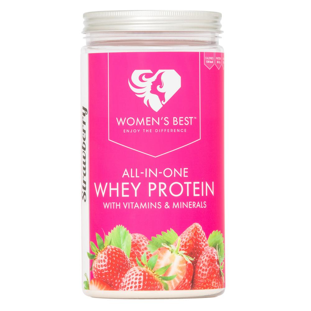 Women´s Best Whey Protein Erdbeere