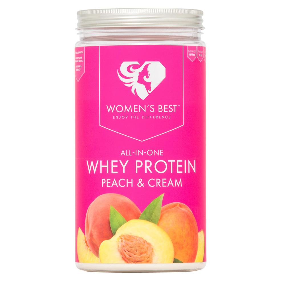 Women´s Best Whey Protein Pfirsich Sahne