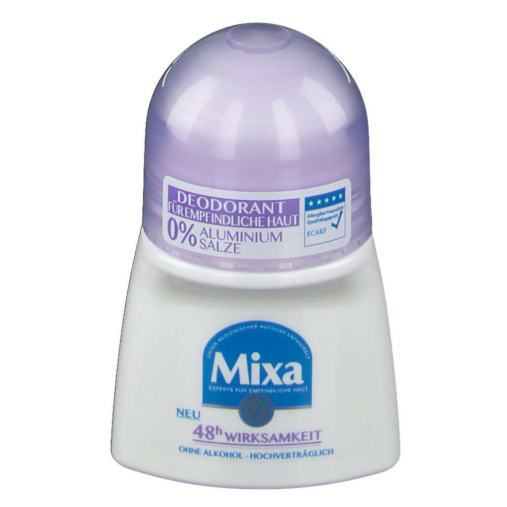 Mixa Deodorant Roll-On 0 % Aluminiumsalze
