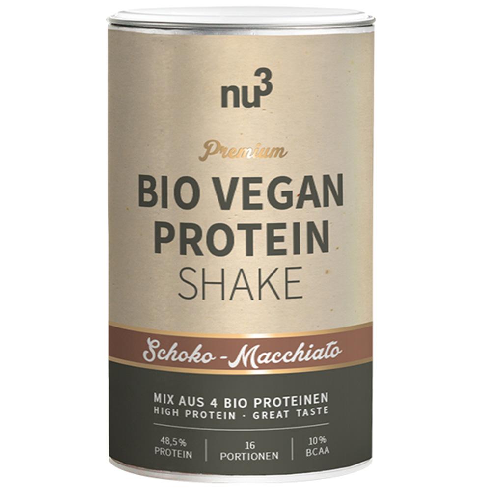 nu3 Bio Vegan Protein Shake Schoko-Macchiato
