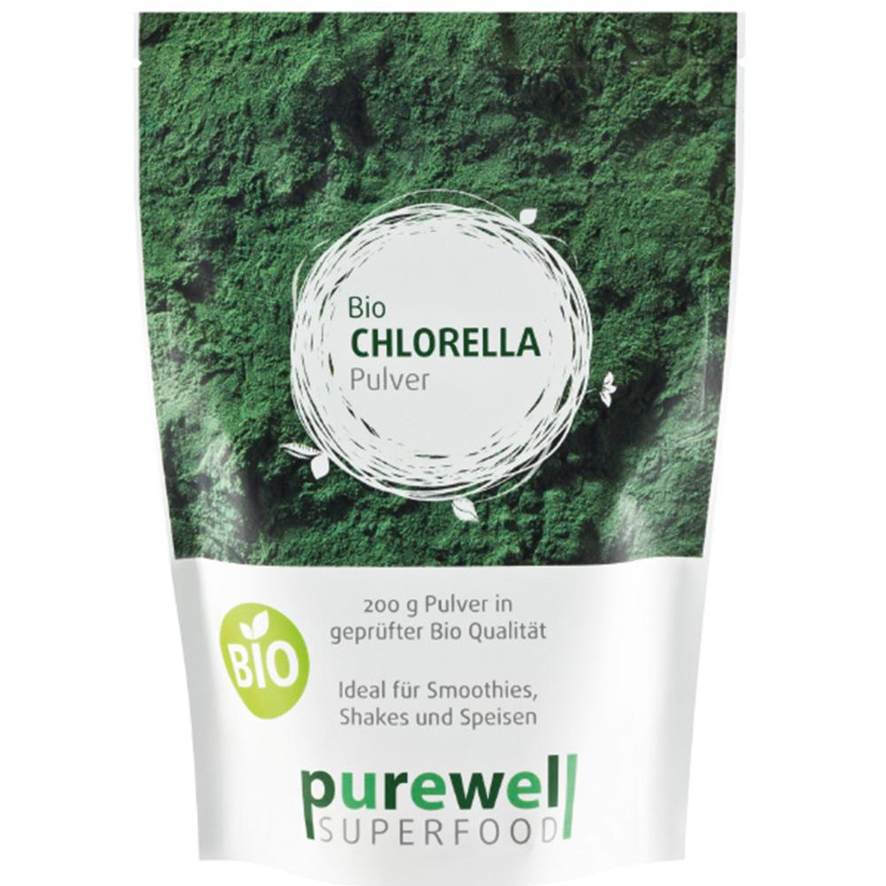 purewell Chlorella Algenpulver