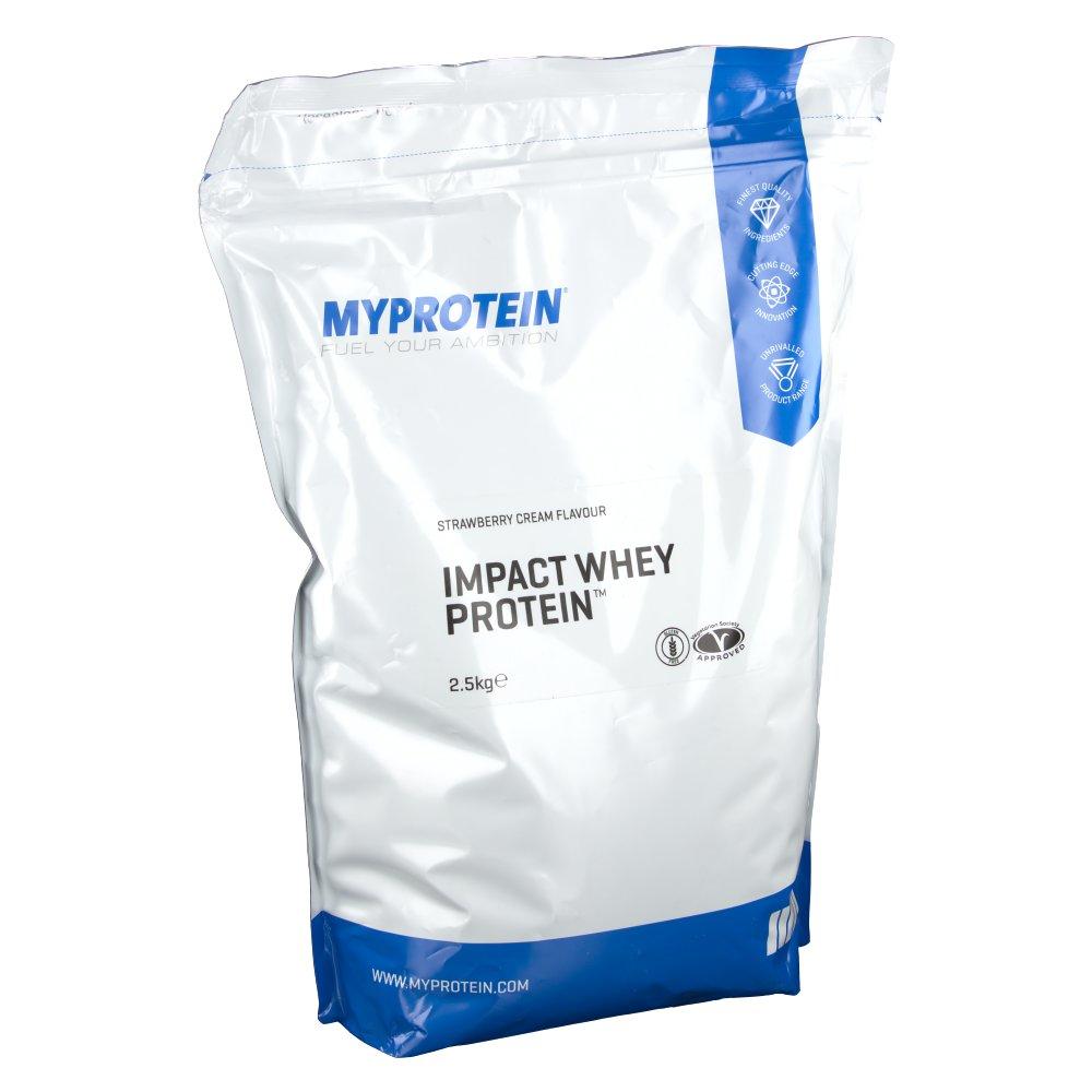 Myprotein The Hut Group: MyProtein Impact Whey Protein, Strawberry Cream, Pulver