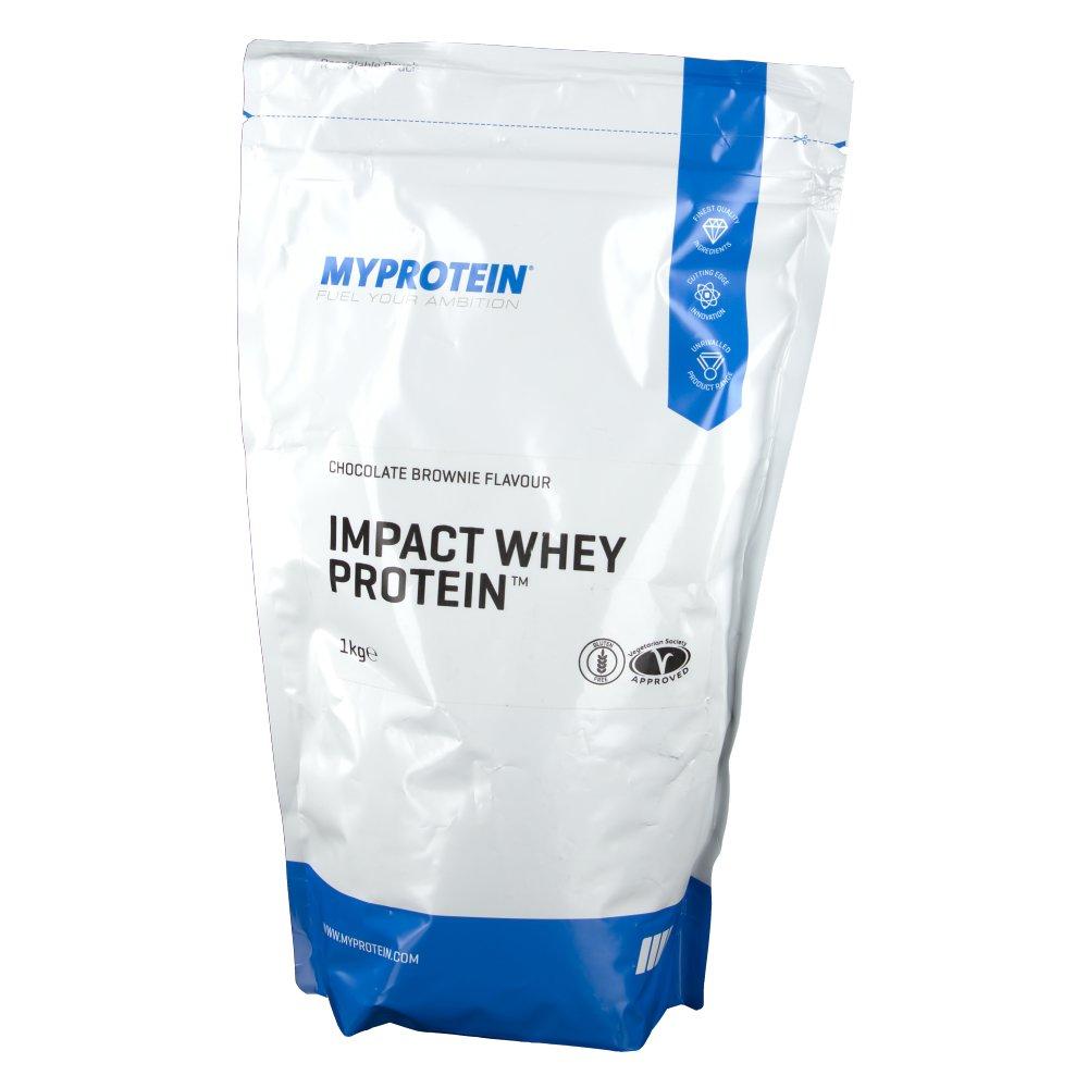 Myprotein The Hut Group: MyProtein Impact Whey Protein, Schoko-Brownie, Pulver