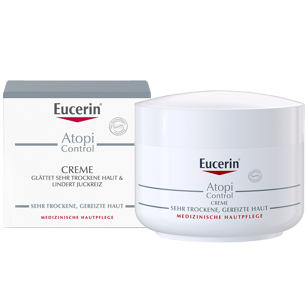 eucerin atopicontrol creme probierset inkl 20 ml. Black Bedroom Furniture Sets. Home Design Ideas