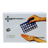 Dosett S Arzneikassette blau 11782
