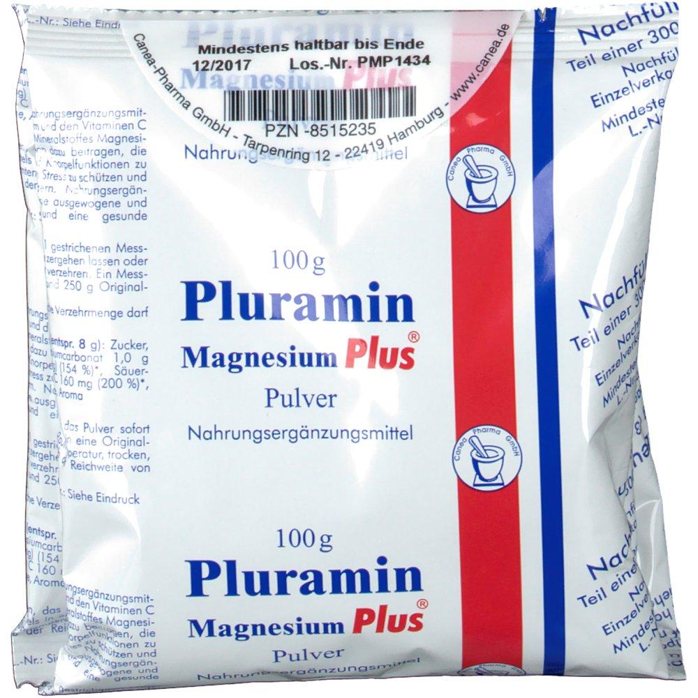 Pluramin Magnesium Plus Pulver Nachfuellbtl.