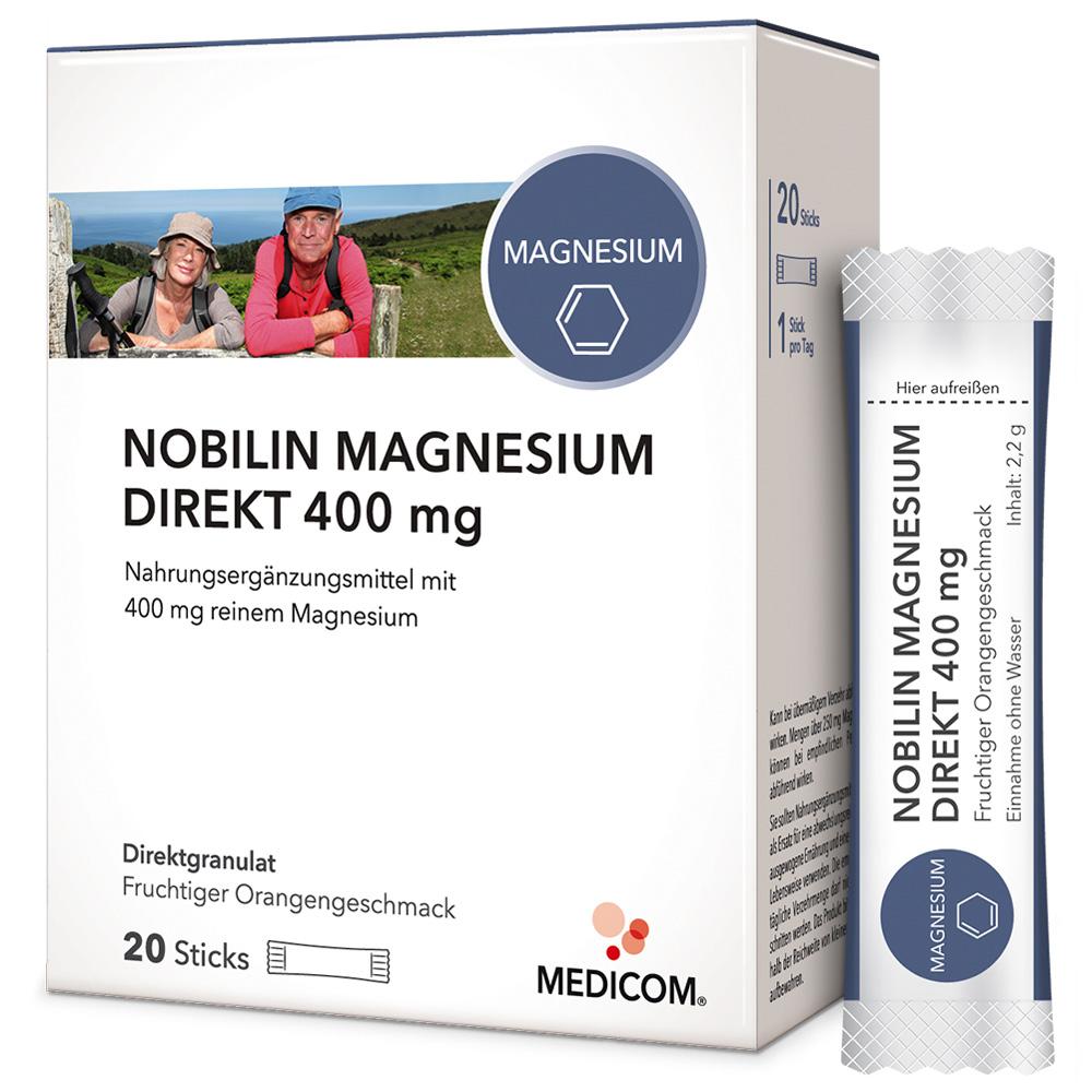 Nobilin Magnesium Direkt 400 mg