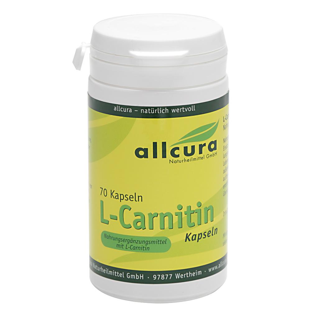 allcura L-Carnitin Kapseln