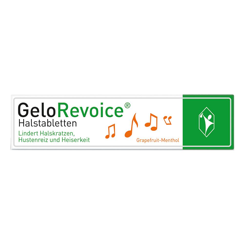 GeloRevoice® Halstabletten Grapefruit-Menthol
