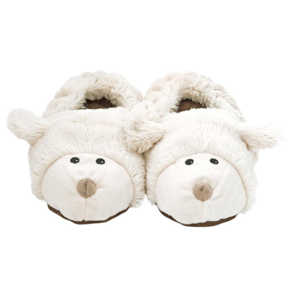 Warmies® Slippies? wärme Pantoffeln Schaf, Gr. S (28-34)