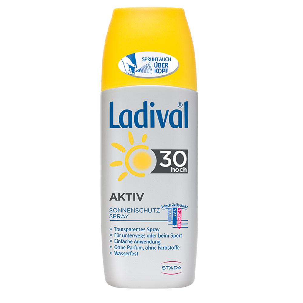Ladival® Aktiv Sonnenschutz Spray LSF 30
