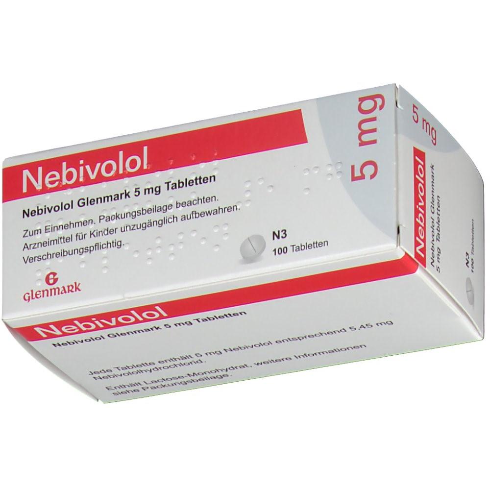 NEBIVOLOL Glenmark 5 mg - shop-apotheke.com