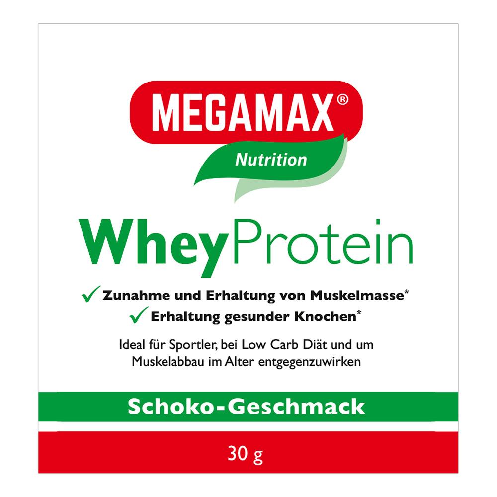 Megamax® Nutrition Whey Protein Molken Eiweiß Schoko-Geschmack