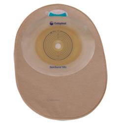 SenSura® Mio Original einteilig geschlossener Beutel plan midi Stomagröße 25 mm hautfarbend 420 ml