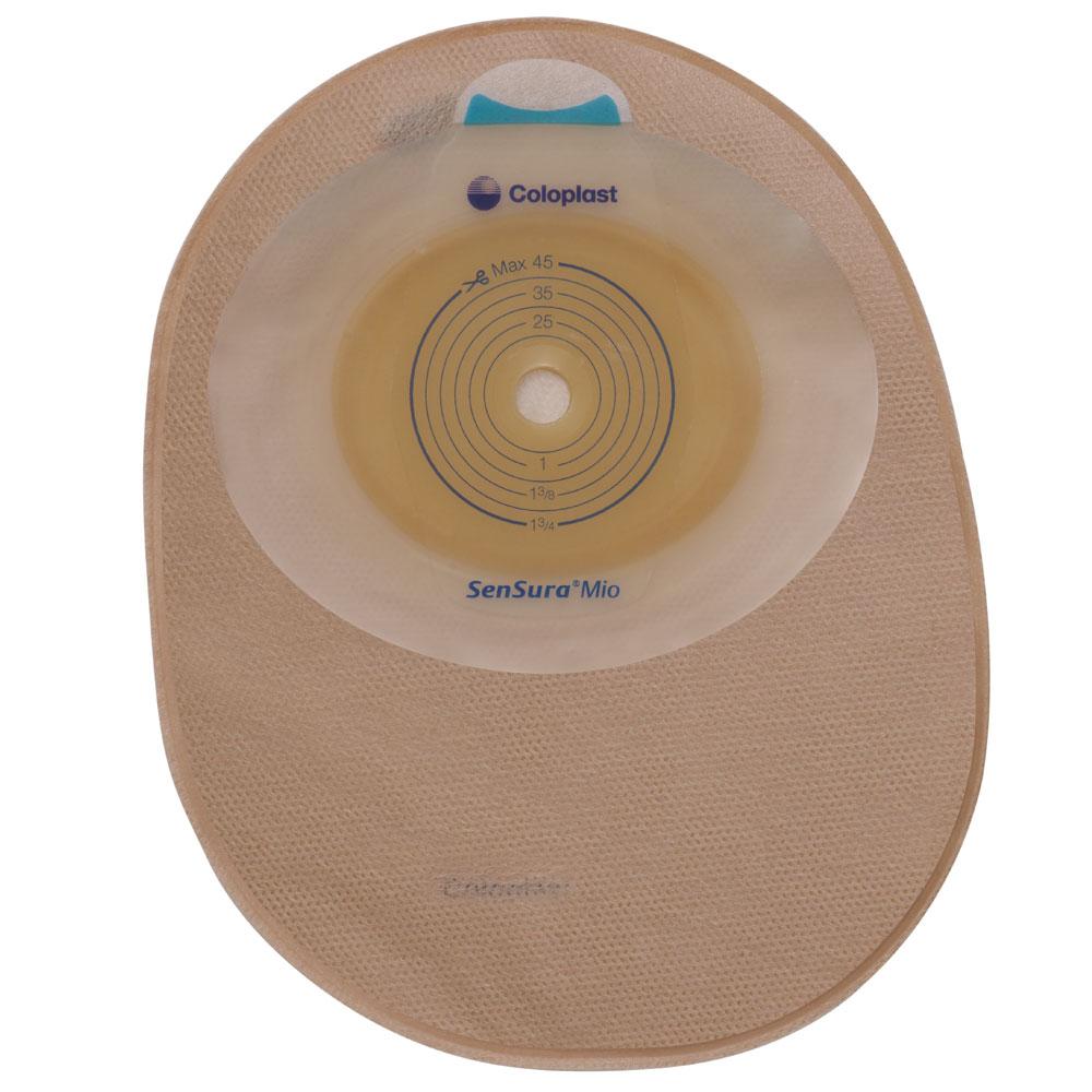 SenSura® Mio einteiliger Beutel 35mm maxi hautfarben