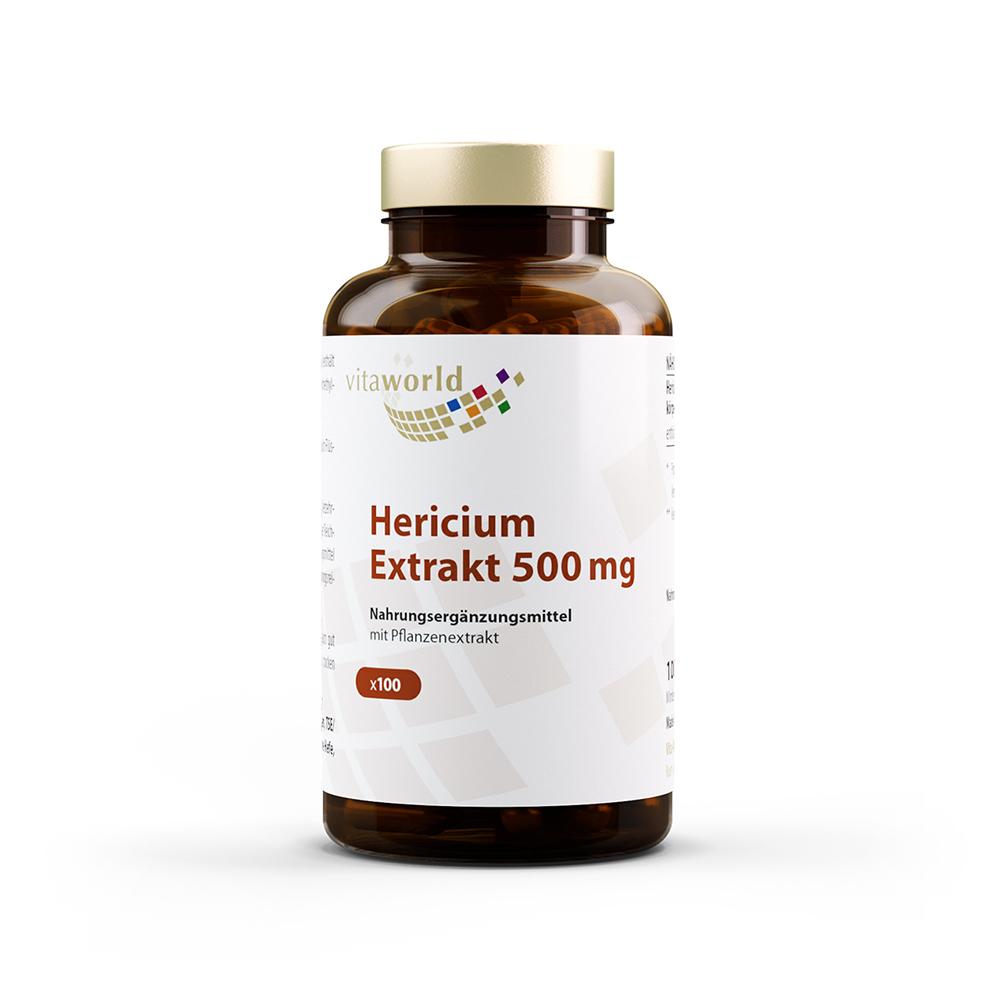 vitaworld Hericium-Extrakt 500 mg