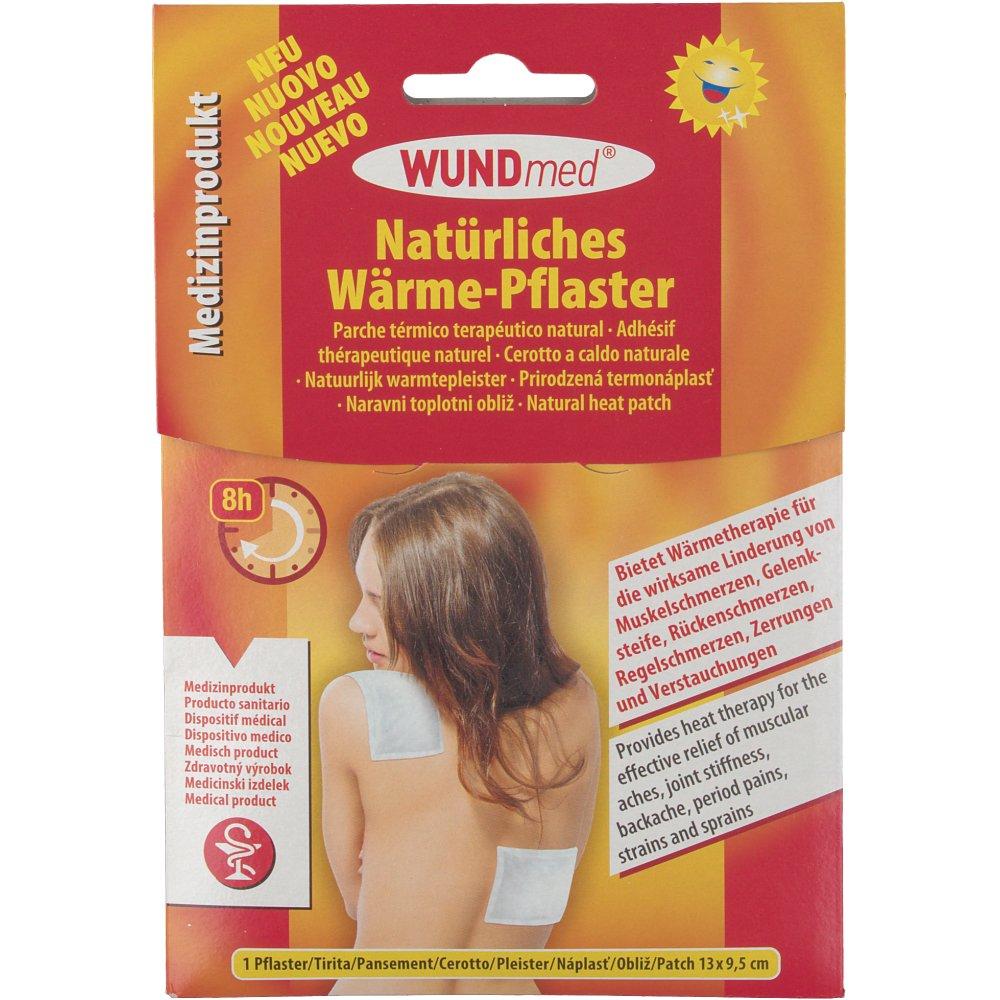 WUNDmed® Natürliches Wärme-Pflaster 13 cm x 9,5 cm
