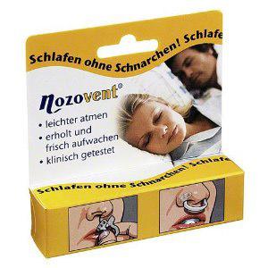 Nozovent® Small Nasenklammer 2 St Klammer
