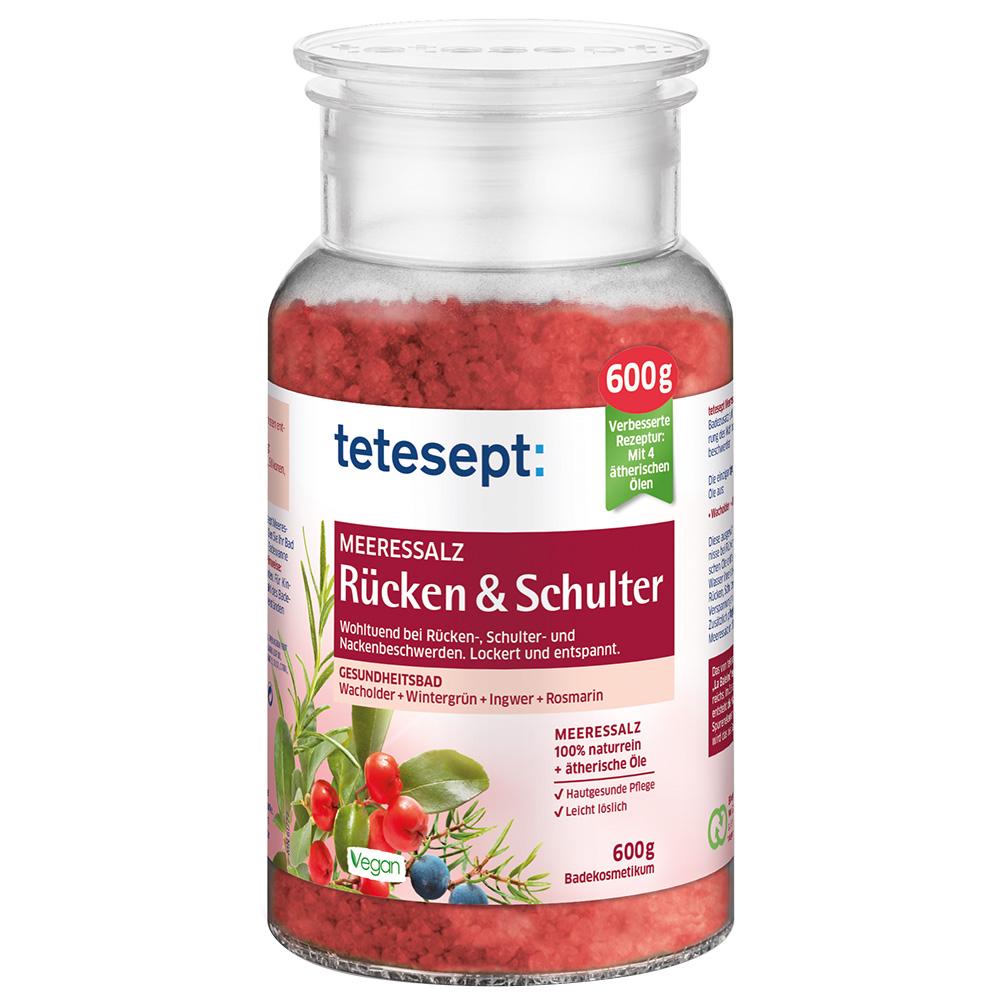 tetesept® Meeressalz Rücken & Schulter