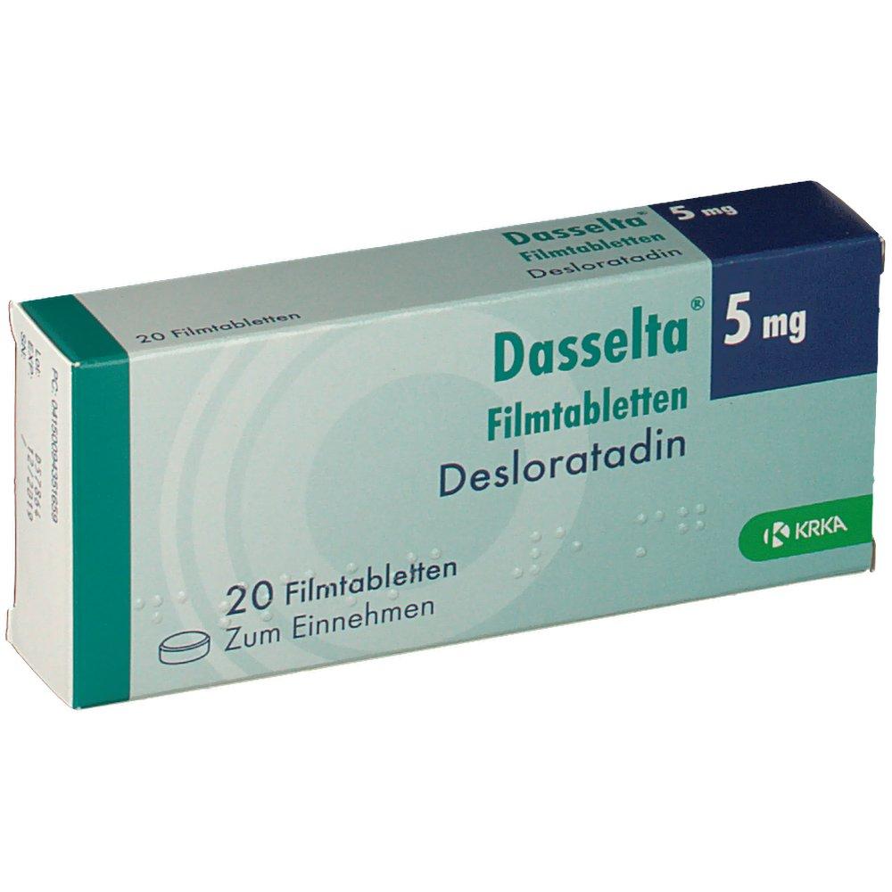 DASSELTA 5 mg Filmtabletten - shop-apotheke.com
