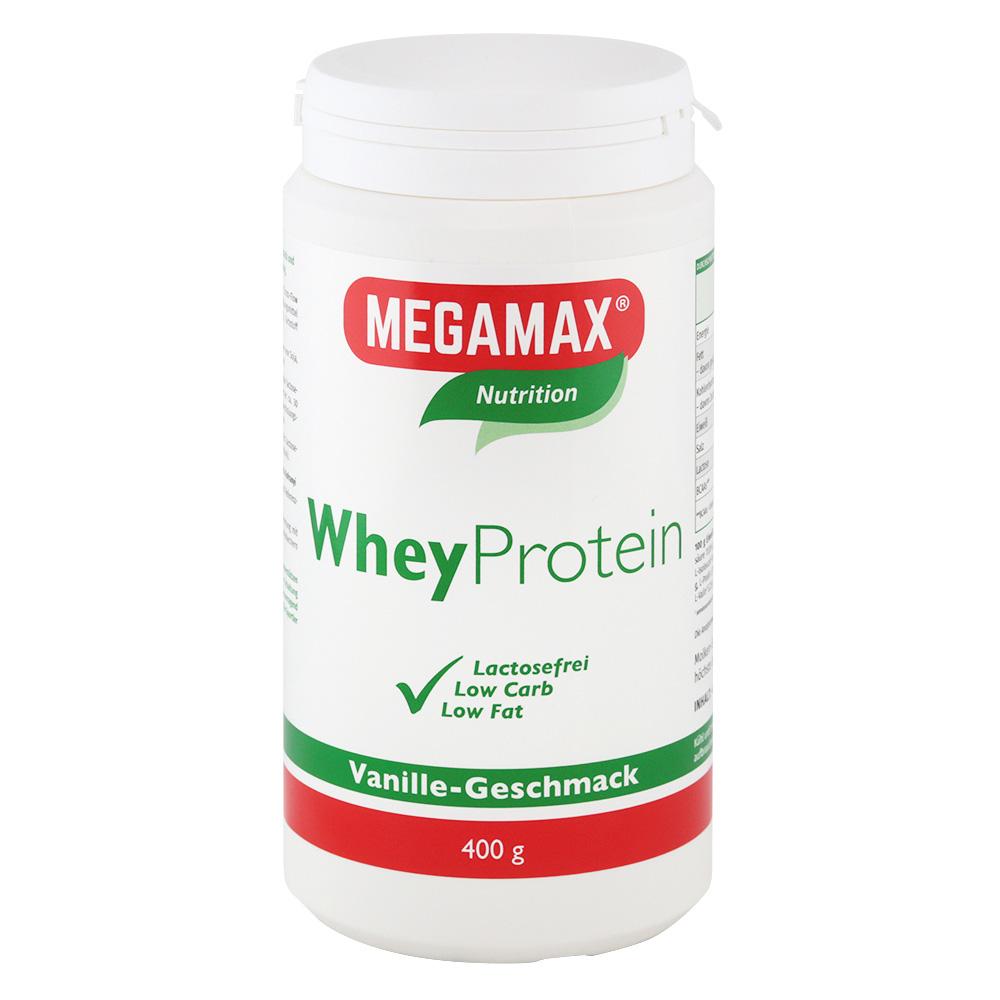 Megamax® Nutrition Whey Protein Molken Eiweiß V...