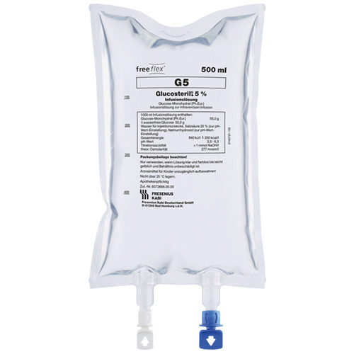 Glucosteril® 5 % freeflex®+ Infusionslösung
