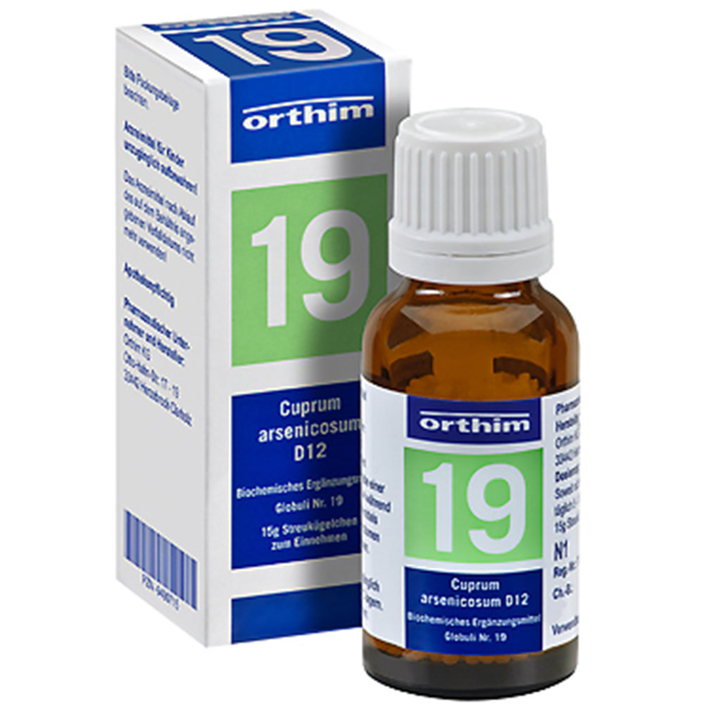 Biochemie Nr. 19 Cuprum arsenicosum D 12