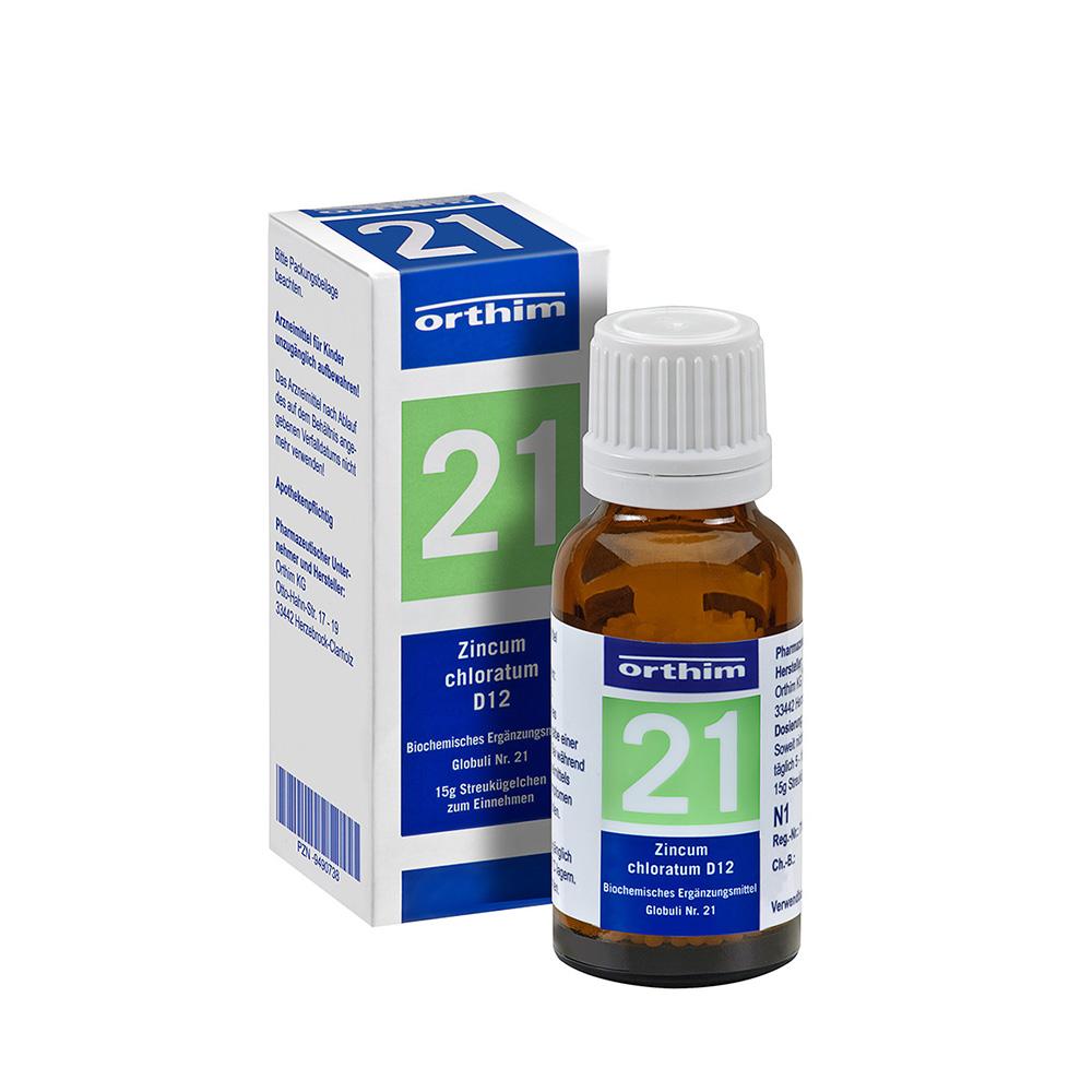 Biochemie Nr. 21 Zincum chloratum D 12