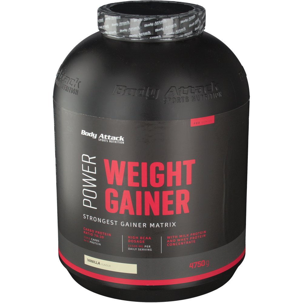 Body Attack Power Weight Gainer Vanilla Body Attack Sports