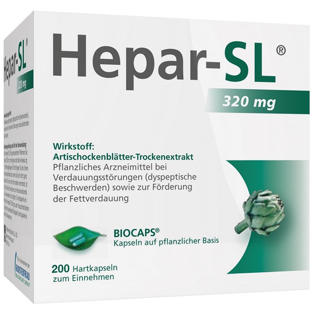 MCM KLOSTERFRAU Vertriebsgesellschaft GmbH Hepar-SL® 320 mg