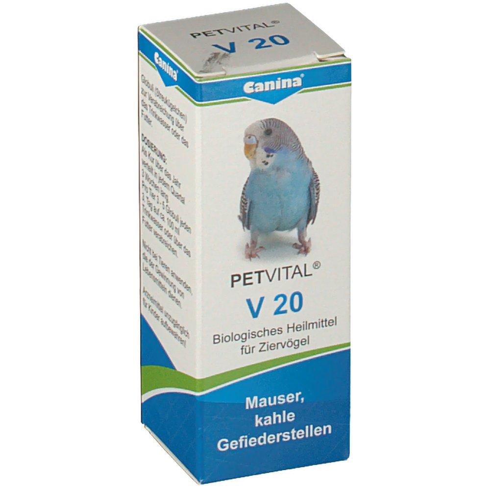 Canina® Petvital® V 20 Globuli